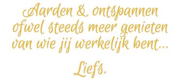 Quote Aarden & Ontspannen - Tineke Vanheule